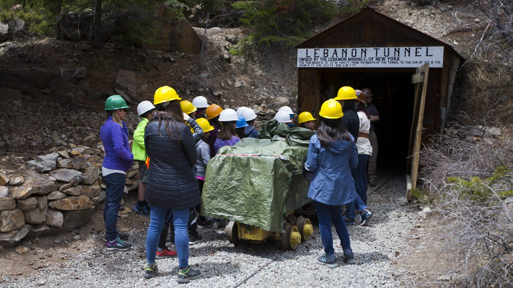Georgetown , GOLD PANNING, Mine Tours, Old West